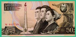 50 Won  - Corée Du Nord - 1992 - N°  6127748 - Neuf - - Corée Du Nord