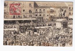 CROATIA Zagreb 1910 OLD PHOTOPOSTCARD 2 Scans - Kroatië
