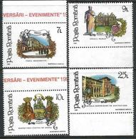 Romania 1992 Scott 3790-93 MNH Anniversaries And Events - 1948-.... Repubbliche
