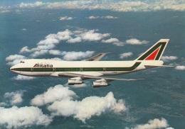 """""""Alitalia"""",Boeing 747,ungelaufen - 1946-....: Modern Era"""