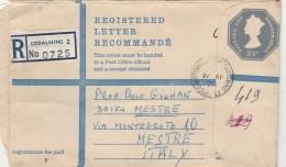 INTERO POSTALE RACCOMANDATO REGNO UNITO 23 P - 1973 (Z1743 - Interi Postali