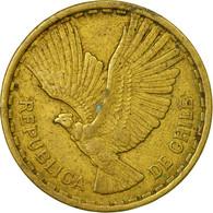 Monnaie, Chile, 10 Centesimos, 1967, TB+, Aluminum-Bronze, KM:191 - Chile