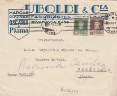 RITAGLIO 1922 DA ARGENTINA PER ITALIA -TIMBRO BUENOS AIRES (Z1832 - Argentina