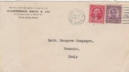 LETTERA 1932 DA USA PER ITALIA TIMBRO PHILADELPHIA (Z1839 - Stati Uniti