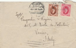 LETTERA DA EGITTO PER ITALIA 1927 TIMBRO ARRIVO VENEZIA (Z1841 - Egypt