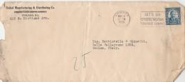 LETTERA 1926 DA USA PER ITALIA TIMBRO CHICAGO -LET'S GO (Z1861 - Stati Uniti