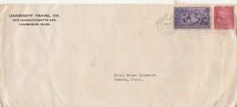LETTERA 1938 DA USA PER ITALIA TIMBRO CAMBRIDGE VENEZIA (Z1866 - Stati Uniti