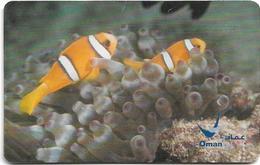 Oman - Chip - Yellow Tailed Anemonfish - 11.2003, 500.000ex, Used - Oman