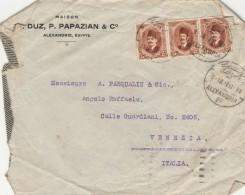 LETTERA 1927 DA EGITTO PER ITALIA TIMBRO ALEXANDRIA VENEZIA (Z1881 - Egypt