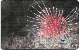 Oman - Chip - Spotfin Lionfish - 07.2004, 500.000ex, Used - Oman