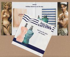 CC Carte Parfumée RABAT 5x5 'JPG' JEAN PAUL GAULTIER' #2280 Perfume Card - Modern (from 1961)