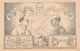 CARTOLINA VIAGGIATA PATTI LATERANENSI  (Z1914 - Christianity