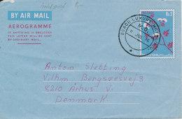 Pakistan Aerogramme Sent To Denmark 11-7-1976 - Pakistan