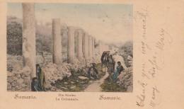 CARTOLINA 1928 SAMARIA TIMBRO FIRENZE SALSOMAGGIORE (Z1927 - Palestina