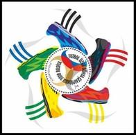 AZERBAIJAN 2018  Football. FIFA World Cup In Russia BLOCK MNH - Coupe Du Monde