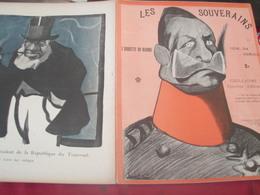 L ASSIETTE AU BEURRE /GUILLAUME II /CAMARA/ABDUL HAMID/NICOLAS II/FRANCOIS JOSEPH/LEOPOLD II / ROUMANIE/SERBIE - Livres, BD, Revues