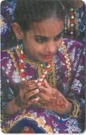 Oman - Chip - Eid Occasion - 11.2003, 500.000ex, Used - Oman