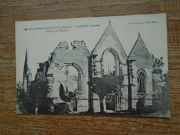 Lihons , Grande Guerre 1914-18 , Reste De L'église - France