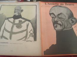 L ASSIETTE AU BEURRE/CAMARA /GENERAUX MERCIER/ANDRE/BOISDEFFRE/NEGRIER/BRUGERE/GALLIFET/FLORENTIN/DUCHESNE/ZURLINDEN - Livres, BD, Revues