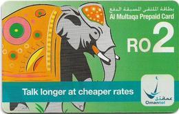 Oman - Chip - Elephant - 2006, 250.000ex, Used - Oman