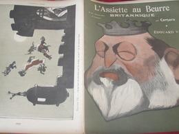 L ASSIETTE AU BEURRE/CAMARA /EDOUARD VII/ANGLETERRE /ROOSEVELT /CECIL RHODES/MILNER/LANSDOWNE/KITCHENER - Livres, BD, Revues