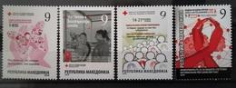 Macedonia 2018 Charity Stamps MNH - Macédoine