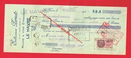 1 Lettre De Change & LE HAVRE Etablissements PERNET Rhum Vin Etranger - Bills Of Exchange
