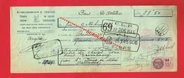 1 Lettre De Change & PARIS Etablissements E TESTUD 75 Rue Des Archives Constructeur Sureté - Bills Of Exchange