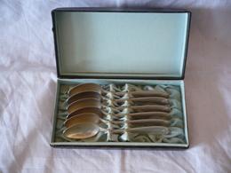 6 Tee-Löffel In Org. Schachtel - WMF-  Silber, älter (643) - Silberzeug