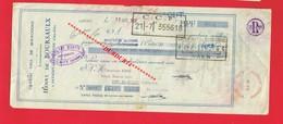 1 Lettre De Change & SAVIGNY LES BEAUNE Etablissements Henry De BOURSAULX Vin - Bills Of Exchange