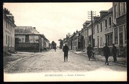 80  PUCHEVILLERS  Route D'Amiens - France