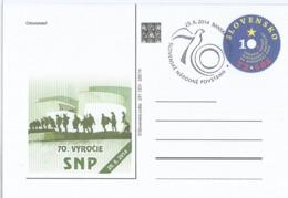 CDV 231 Slovakia Slovak National Uprising Anniversary 2014 - 2. Weltkrieg
