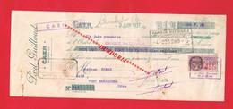 1 Lettre De Change & CAEN P GUILLOUET - Bills Of Exchange