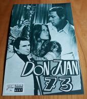 """BRIGITTE BARDOT In """"Don Juan 73"""" Mit Jane Birkin, Maurice Ronet ... - Altes NFP-Filmprogramm - 181848 - Magazines"""