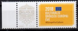 HUNGARY, 2018,MNH, EU, CULTURAL HERITAGE, 1v+TAB - European Community