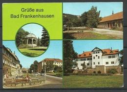 Deutschland BAD FRANKENHAUSEN Kr. Artern Gesendet 1990 Mit 3 Briefmarken - Bad Frankenhausen