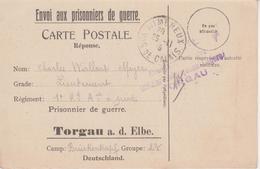 Envoi Aux Prisonniers De Guerre - 1. Weltkrieg 1914-1918