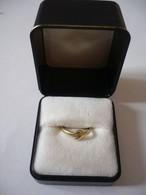 Damenring - 585 Gelbgold Mit Kleinem Brillanten (648) - Ringe
