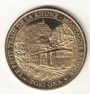 Medaille Arthus Bertrand 64.SARE - Petit Train De La Rhune Toki Ona 2009 - Arthus Bertrand