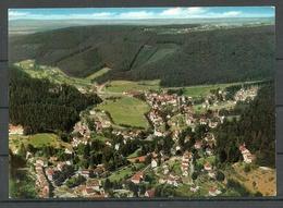 Deutschland Ansichtskarte BAD HERRENALB Heimatklimatischer Kurort Gesendet Mit Briefmarke - Bad Herrenalb