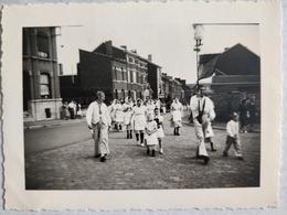 Liège. Grivegnée. Fête. Cortège. 08-07-1951.  10x7 Cm - Lieux