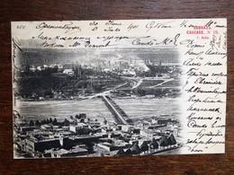 C.P.A. : AZERBADJIAN,  AZERBAIJAN : QUBA, 2 Stamps In 1901 - Azerbaïjan