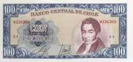 Chile 100 Escudos, P-141a - UNC - Chile