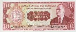 Paraguay 10 Guaranies, P-196a (L.1952) - UNC - Paraguay