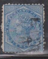 NEW ZEALAND Scott # 55 Used - Queen Victoria - 1855-1907 Crown Colony