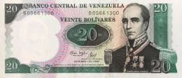 Venezuela 20 Bolivares, P-71 (20.10.1987) -  UNC - Venezuela