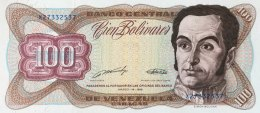Venezuela 100 Bolivares, P-66b (16.3.1989) -  UNC - Venezuela