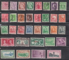 NEW ZEALAND Scott # Various Used - Some Minor Faults - 1855-1907 Crown Colony