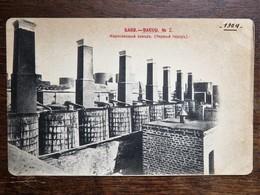 C.P.A. :  AZERBAIJAN :  BAKU, Petrol Tanks  AZERBADJIAN : Réservoirs De Pétrole, Stamp In 1904 - Azerbaïjan