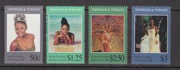 1995 Trinidad Miss Universe Complete Set Of 4 Wow!!! MNH - Trinidad & Tobago (1962-...)